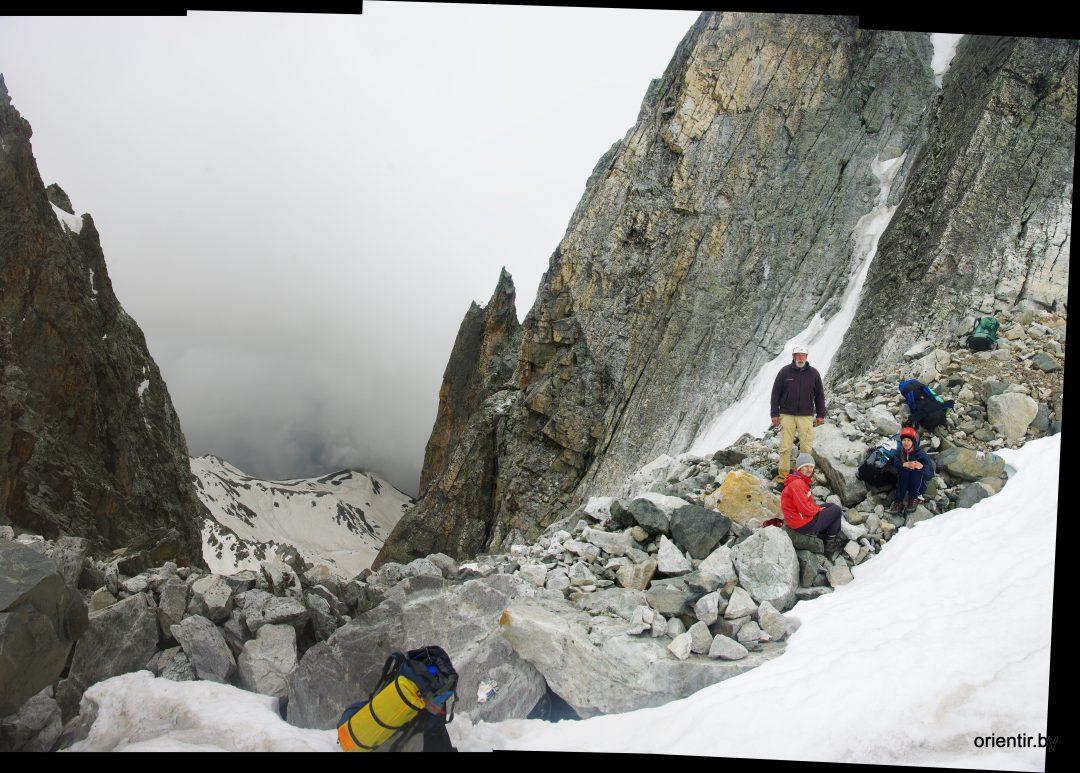Группа на перевале Рокуэлла Кента