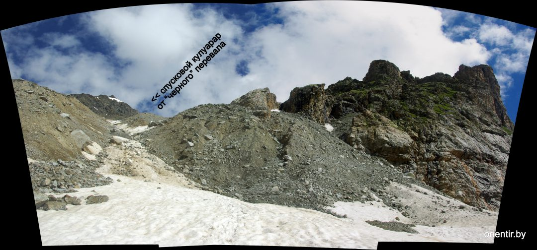 Обход верхнего ледопада