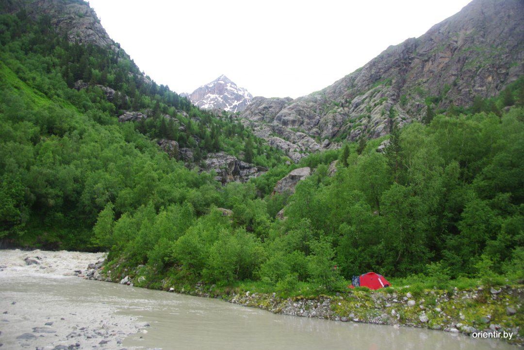 У слияния рек Нагеб и Цаннер