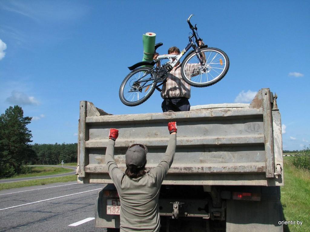 Собираясь в поход, не забудьте грузовик
